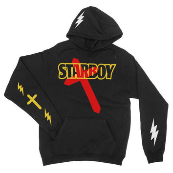 Starboy Hoodie, The Weeknd Starboy Hoodie ,xo, The weeknd merch, The weeknd, The weeknd T shirt