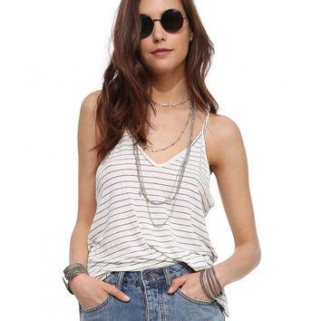 Spaghetti Strap Striped Tank Top