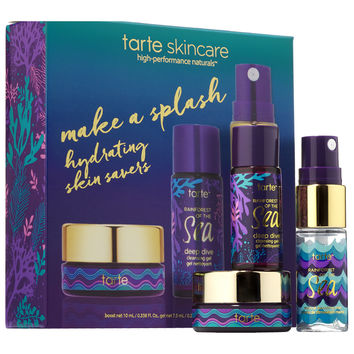 Sephora: tarte : Rainforest of the Sea™ Make A Splash Hydrating Skin Savers : skin-care-sets-travel-value
