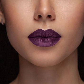 Purple Reign  - Long Lasting, full coverage Cream Matte Liquid Lipstick