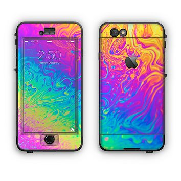 The Neon Color Fushion V2 Apple iPhone 6 LifeProof Nuud Case Skin Set