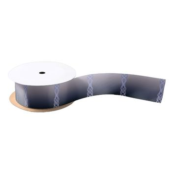 Dark Purple Lights Satin Ribbon
