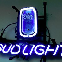 Bud Light Can Neon Sign