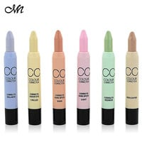 Face Contouring Makeup Menow Brand Concealer Pen Pencil Corretivo Stick Palette CC Color Corrector For Circle & Spot & Acne