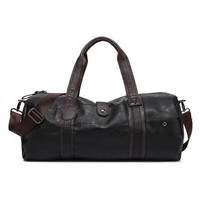 The Gentleman - Black Leather Bag