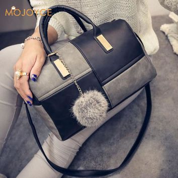 Leather Handbags Big Women Bag High Quality Casual Female Bag Trunk Tote Spanish Brand Shoulder Bag Ladies Large Bolsos Tote Bag