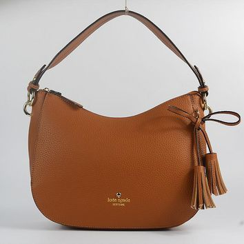 """Kate Spade"" Simple Fashion Tassel Single Shoulder Messenger Bag Women Casual Handbag"