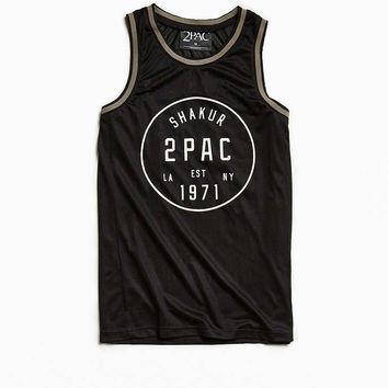 2Pac Basketball Jersey - Urban Outfitters