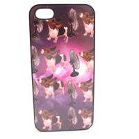 Basset Hounds In Space Phone Case