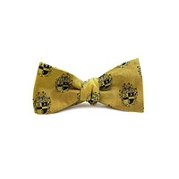 Alpha Phi Alpha Bow Tie in Gold by Dogwood Black