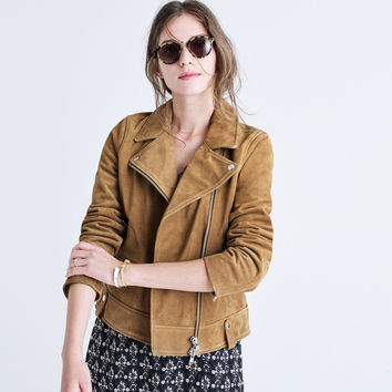 Suede Motorcycle Jacket