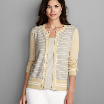 Women's Christine Cardigan Sweater - Stripe | Eddie Bauer