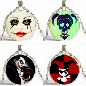 FREE Harley and Joker Steampunk Choker Necklaces