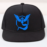 Cap - pokemon go - team valor - team mystic - team instinct - pokeball - pokemon hat
