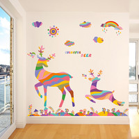 Decoration Christmas Glass Wall Sticker [9352139850]