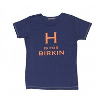 Navy H Is For Birkin Tee by Jet Setter - ShopKitson.com