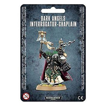 Games Workshop Warhammer 40k Dark Angels Interrogator-Chaplain Miniature 44-70