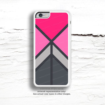iPhone 6 Case, iPhone 5C Case Pink Chevron, TOUGH iPhone 5s Case, iPhone 6 Plus Case, Gray Geometric iPhone Case, Gray iPhone Cover C23
