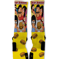 Bobs Burgers Custom Nike Elite Socks