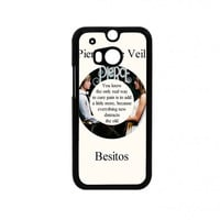 Pierce The Veil Song Lyrics Band HTC One M8 Case