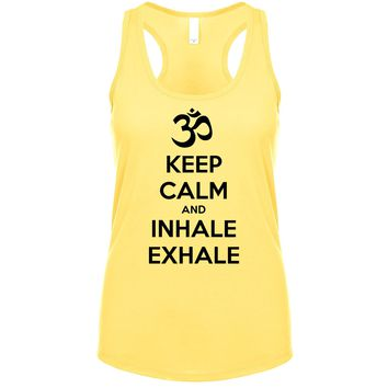 Keep Calm And Inhale Exhale (OM) Women's Tank