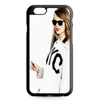 taylor swift cover white iPhone 6 Case