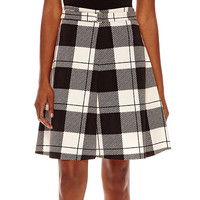 Worthington® Belted A-Line Skirt - JCPenney