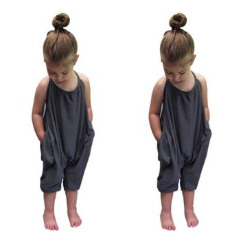 Toddler Kid Baby Girls Jumpsuits
