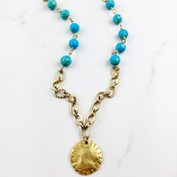 Oceano Long Statement Necklace