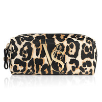 NEW! Leopard Print Cosmetic Case