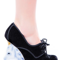 Irregular Choice Rupiez Unicorn Heels Black
