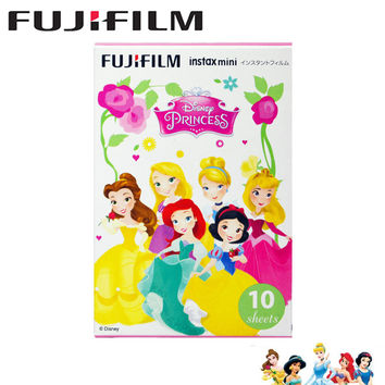 Geniune Fujifilm Fuji Instax Mini 8 Film Princess Films 10pcs Photo Paper for Fujifilm Instax Mini 8 70 25 90 Camera SP-1 SP-2