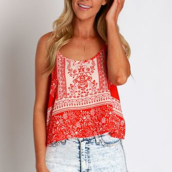 Cancun Crushin Crop Tank