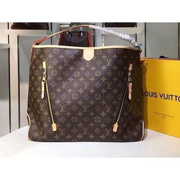 LV Hot Selling Ladies'One Shoulder Bag with Printed Colour Shopping Bag
