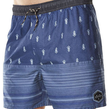 RIP CURL RAPTURED FILL BEACH SHORT - NAVY