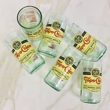Topo Chico Drinking Glass Package