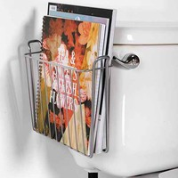 Hanging Magazine Storage Rack- Silver One