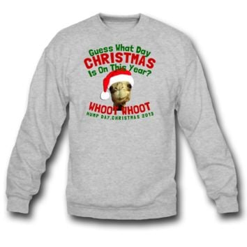 hump day christmas sweatshirt
