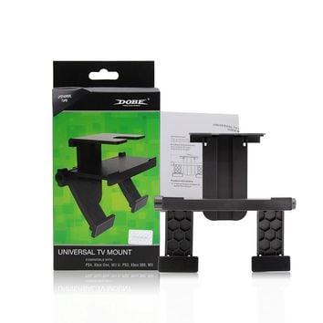 Universal TV Mount Clip Holder Stand for Sony for PS4 /PS3 for XBox One/360 for Wii / for Wll U