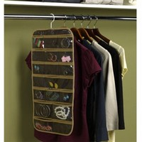 Jewelry and Stocking Organizer (Set of 2) - Dorm Room Closet Organizer for Small Items