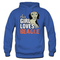 this girl loves her BEAGLE HOODIE