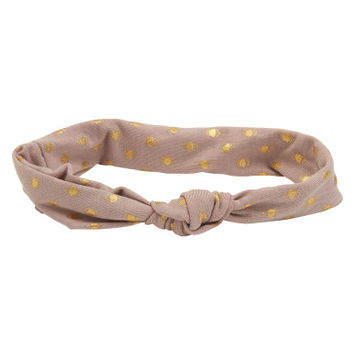 Metallic Dot Headband - Aeropostale