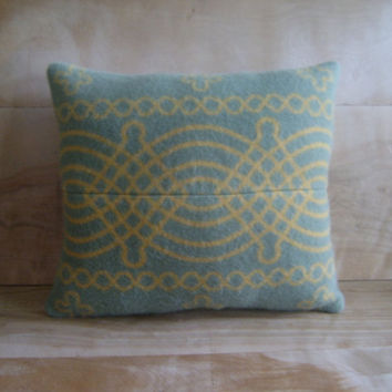 Pendleton Wool Pillow 13x14 by RobinCottage on Etsy