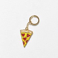 VERAMEAT Pizza Luv Keychain - Urban Outfitters