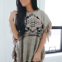 Wing And A Prayer Poncho