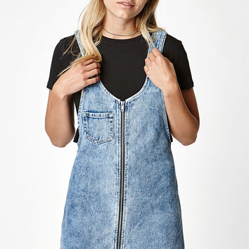 PacSun Overall Denim Dress at PacSun.com