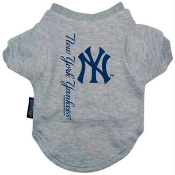 DCCKT9W New York Yankees Dog Tee Shirt