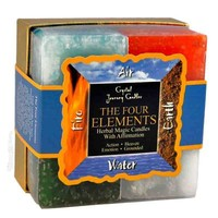 The Four Elements Candle Gift Set on Sale for $11.95 at HippieShop.com