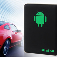 Mini A8 Multi-Functional Home Monitoring GSM / GPRS/ GPS Tracker (Black)