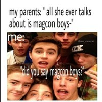 Magcon is all I talk about | Do it for the vine | Pinterest